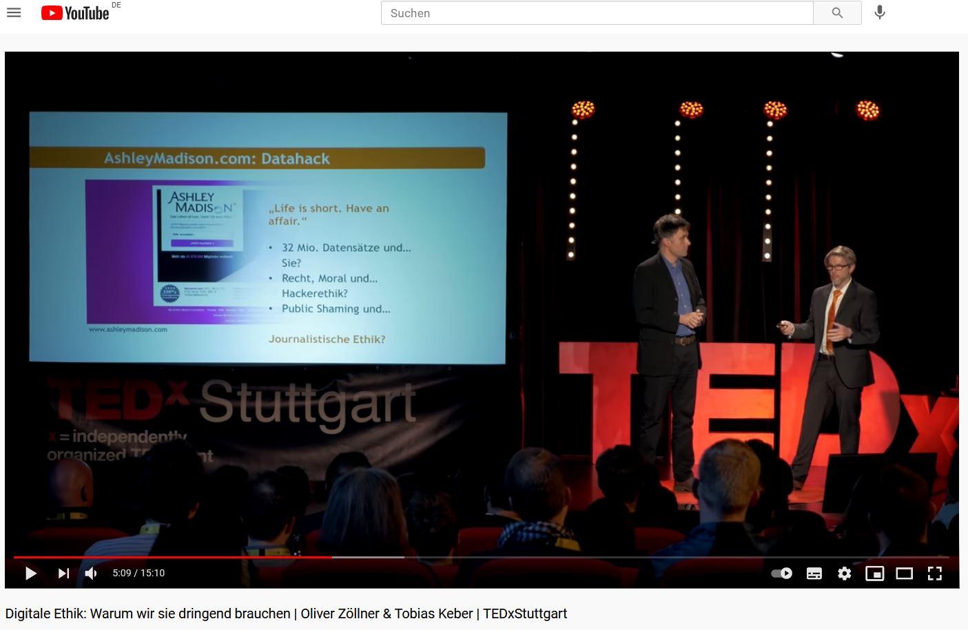 Video bei YouTube TEDx Stuttgart